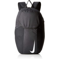 Nike Academy Team Children's Backpack in Black with Adjustable Straps