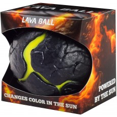 Waboba Ball in Lava / Grey with UV Colour Changing Technology - 63 mm