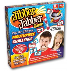 Jibber Jabber Mouthpiece Challenge Game for Party - 16 Years +