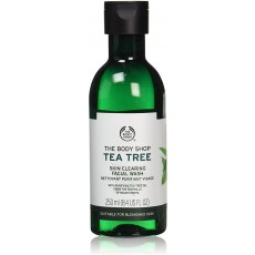 The Body Shop Unisex Facial Wash - Tea Tree for Healthy Skin - 250ml