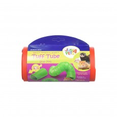 Ancol Small Animal Tuff Tube Toy - Extends 18cm - 75cm, Color May Vary