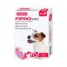 Beaphar FIPROtec Spot On Small Dog - 6 Pipettes