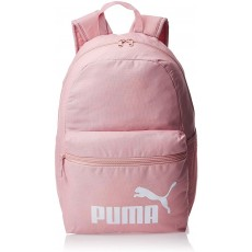Puma Phase Backpack in Bridal Rose with Padded Back and Webbing Carry Handle