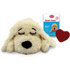 SmartPetLove Snuggle Puppy Behavioral Aid Toy Golden Lab