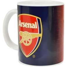 Spot On Gifts Arsenal Football Club Halftone Ceramic Mug - One Size
