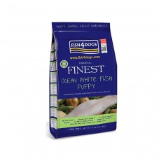 Fish4Dogs Finest Puppy Ocean White Fish Small Kibble - 1.5kg