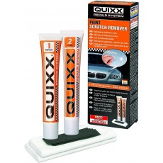 Quixx Scratch Remover with 25g Polish & 25g Finish & 2 Cloths & 4 Sandpaper