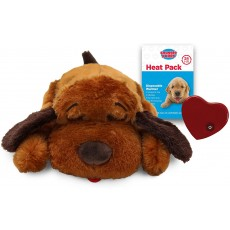 SmartPetLove Snuggle Puppy Behavioral Aid Toy Brown Dog