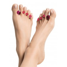 Dip Into Pretty® Pedi Spacers  - Diamante 'Dots of Perfection Pink'