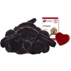 SmartPetLove Snuggle Puppy Behavioral Aid Toy, Black Lab