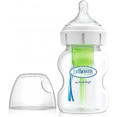 Dr. Brown's Options+ Anti Colic Single Bottle - Vacuum Free Vent System - 150ml