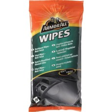 Armor All Dashboard Wipes - Matt Finish for Vinyl & Rubber Surfaces - Pack of 20