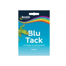 Blu-Tack Reusable Adhesive in Blue - Handy Wallet Size - Easy to Use