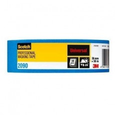 Scotch 2090 Professional Universal Masking Tape in Blue - 36mm x 50m