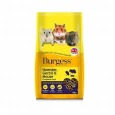 Burgess Hamster, Gerbil & Mouse Food - 750g