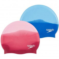 Speedo Swimming Cap in Pink / Red Silicone with Chlorine Resistance - Adult