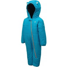 Dare 2b Kid's Hooded Character Rain and Snowsuit in Blue - 12 / 18 Months