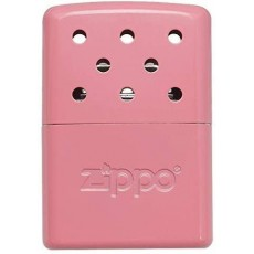 "Zippo 6 Hour Easy Fill Reuseable Hand Warmer - Pink - 2.9"" x 2"" x 0.6"""