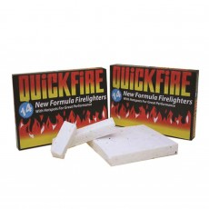Quickfire 14 Super Value Fire Lighters with Hotspot for Great Performance