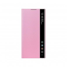 Samsung Galaxy Note 10 Clear View Cover Case - Pink