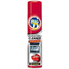 Big D Oven and Grill Cleaner Aerosol for Cleaning Conventional Ovens - 300ml