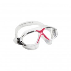 Aqua Sphere Ladies Vista Goggle White/Red/Clear