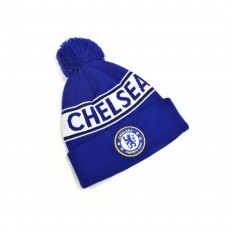 CHELSEA TEXT KNITTED BOBBLE