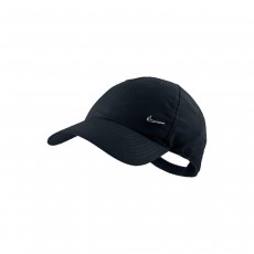 Nike Adult Metal Swoosh Cap - Black