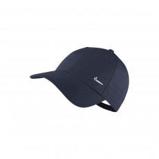 Nike Adult Metal Swoosh Cap - Navy