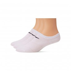 Nike Lightweight No Show Socks (3 Pairs) - White, XL