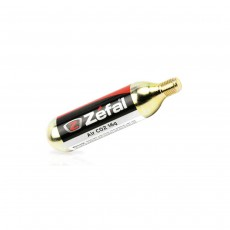 Zefal CO2 Cartridge Gold, 16g - Pack of 6