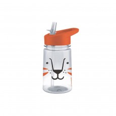 Aladdin Zoo Flip & Sip Water Bottle - Lion, 0.35L