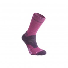 Bridgedale Woolfusion Trekker Womens - Medium Berry