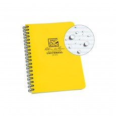 "Rite in the Rain Universal Notebook, Side Spiral Bound, 4⅝"" X 7"" (32 Sheets)"