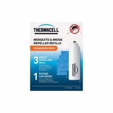Thermacell Standard Refill Pack (3 Mats & 1 Gas)
