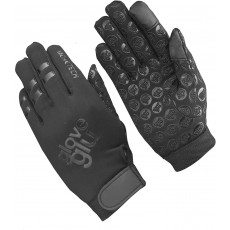 GloveGlu Multisport Gloves in Black for any Sport Requiring Grip - Junior