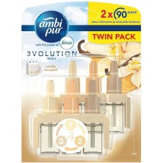 Ambi Pur 3Volution Plug In Refill - Vanilla Bouquet - 20ml x Twin Pack