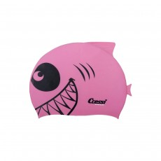Cressi Shark Silicone Kids Cap - Pink