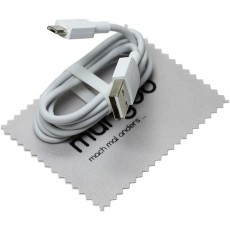 Mungoo Mach Mal Anders Charging Data Cable Micro USB in White for Huawei - 1m