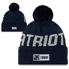 New Era Sport Knit Hat Cap Winter Beanie with Pom on Top - One Size