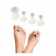 Dip Into Pretty Pedi Spacers - Diamante Dots of Perfection