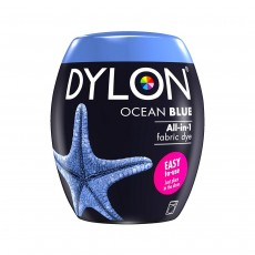 DYLON Machine Dye Pod, 26 Ocean Blue, easy-to-use fabric colour for laundry, 350g