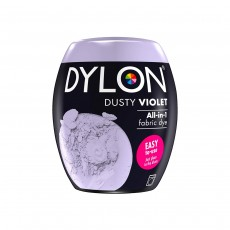 DYLON Machine Dye Pod, Dusty Violet  02, easy-to-use fabric colour for laundry, 350g