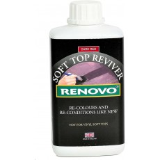 Renovo International Classic Soft Top Reviver in Dark Red - 500ml
