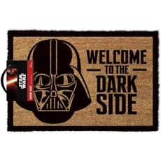 Star Wars Welcome to the Darkside Door Mat in Brown Polyurethane - 40 x 60cm