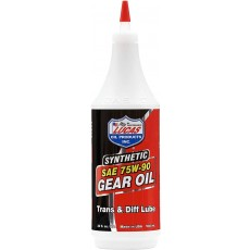 Lucas Oil 10047 SAE 75W-90 Synthetic Transmission & Differential Lube - 1 Quart
