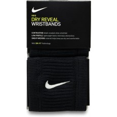 Nike Dry Reveal Sweatband in Black and White with Dri Fit Material