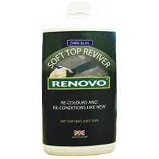 Renovo Classic International Soft Top Reviver in Dark Blue - 1L