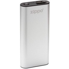 Zippo Heatbank 3 Rechargeable Hand Warmer and Power Bank in Silver