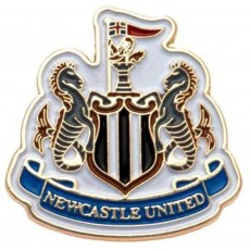 Newcastle United FC Official Licensed Crest Pin Badge in Multi Colour